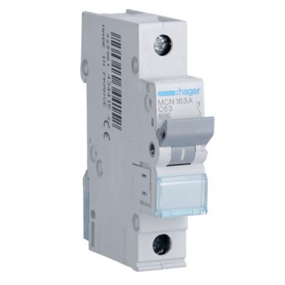 disjoncteur magneto-thermique 1 pole 6kA