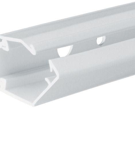 goulotte cache-câbles flexible hager