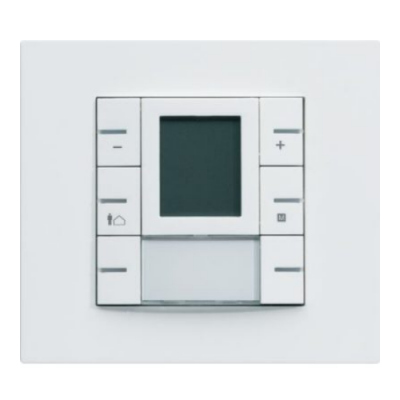 thermostat knx multi-fonctions avec afficheur hager