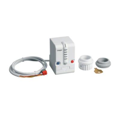 Vanne de chauffage radiateur motorisée thermostat réglable knx hager