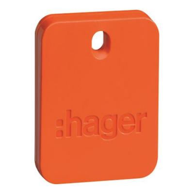 badge de commande pour clavier hager sepio