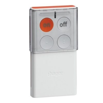télécommande bidirectionnelle 4 touches sepio radio hager